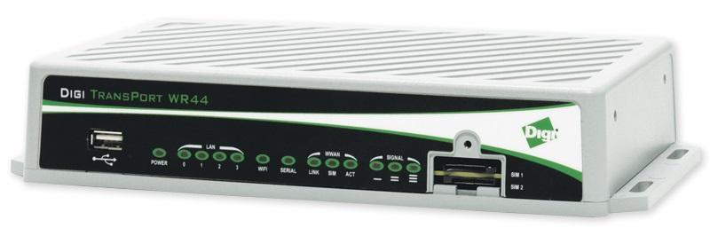 Digi TransPort WR44 R - 4G LTE CAT 6, WiFi (WR44-M800-AE1-RF